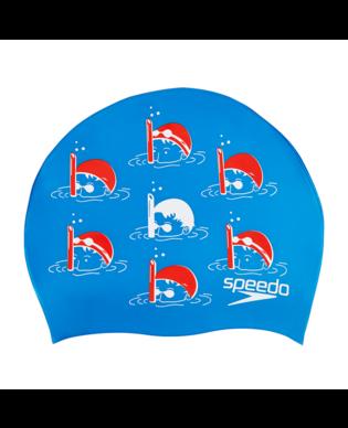 Speedo Slogan Jr. Zwemmers (Blauw)