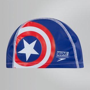 Speedo Pace Cap Junior Captain America (Blauw)