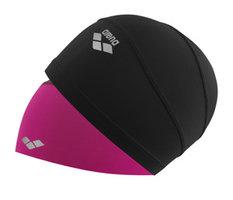 Arena Smart Cap (Textiel) (Zwart/roze)